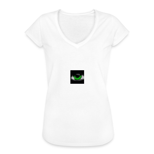 Green eye - Women's Vintage T-Shirt