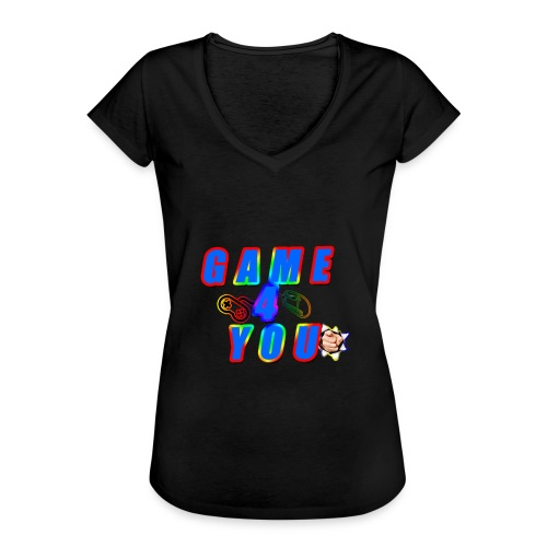 Game4You - Women's Vintage T-Shirt