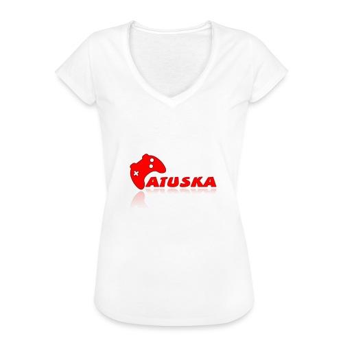 Atuska - Naisten vintage t-paita