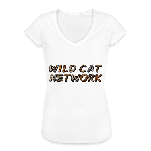 WildCatNetwork 1 - Women's Vintage T-Shirt