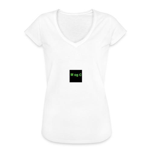 mogc - Dame vintage T-shirt