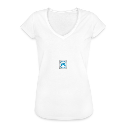 mijn logo - Vrouwen Vintage T-shirt