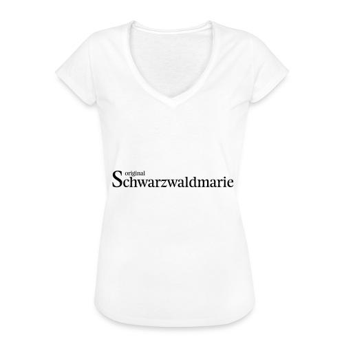 Schwarzwaldmarie - Frauen Vintage T-Shirt