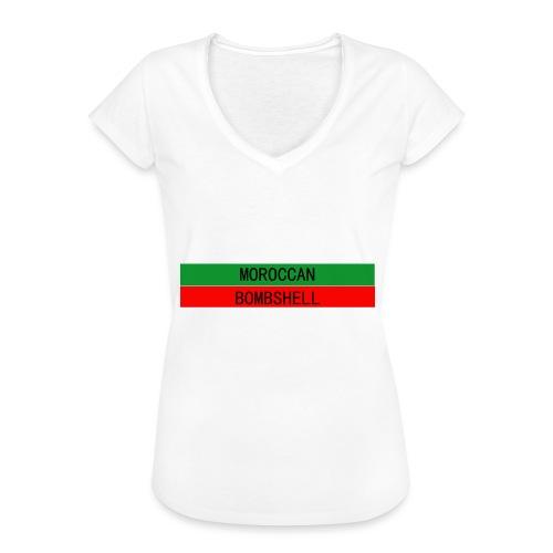 Moroccan Bombshell - Frauen Vintage T-Shirt