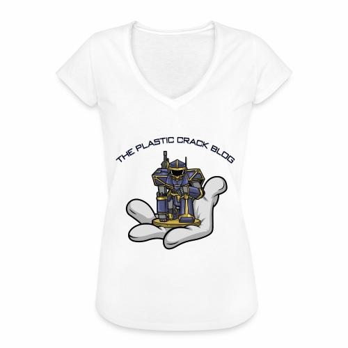 Plastic Crack Blog - Women's Vintage T-Shirt