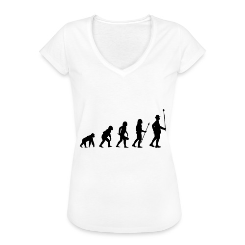 Stabführer Evolution - Frauen Vintage T-Shirt