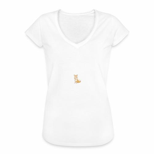 Akita Yuki Logo - Women's Vintage T-Shirt
