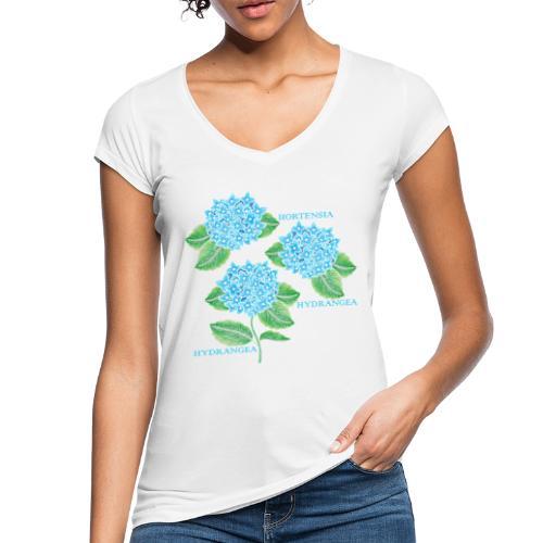 Hydrangea - Dam - Women's Vintage T-Shirt