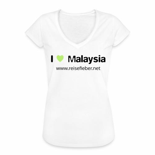 I love Malaysia - Frauen Vintage T-Shirt