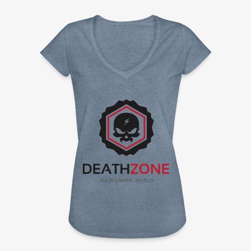 DeathZone Logo Avatar - Koszulka damska vintage