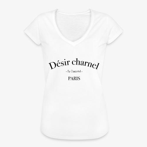 Désir charnel - T-shirt vintage Femme