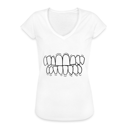 TEETH! - Women's Vintage T-Shirt