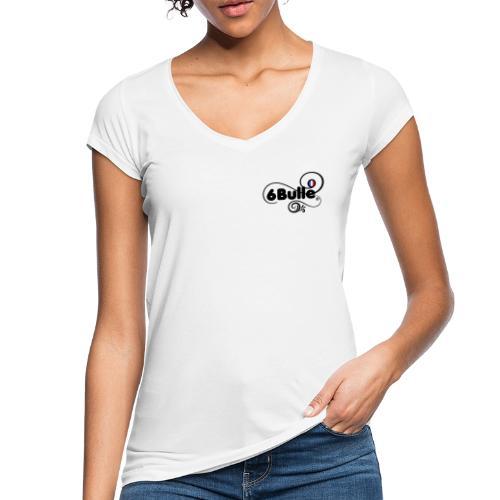6bulle pour elle Bleu Blanc Rouge - T-shirt vintage Femme