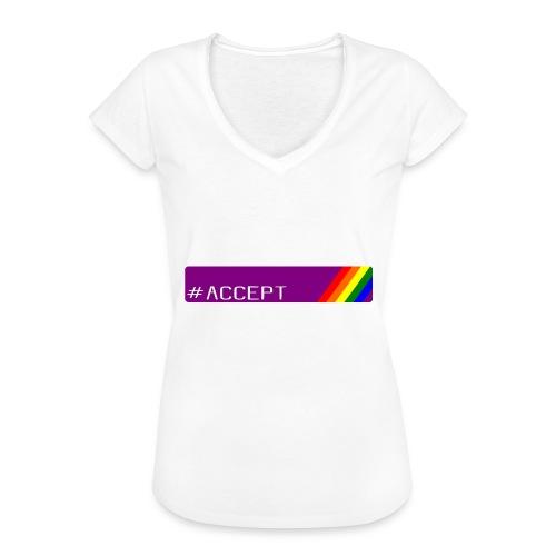 79 accept - Frauen Vintage T-Shirt