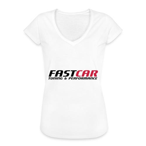fastcar-eps - Vintage-T-shirt dam