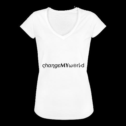 original ςhαηgεMYω⊕rレd - T-shirt vintage Femme