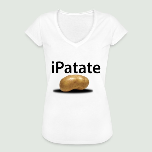 iPatate - T-shirt vintage Femme
