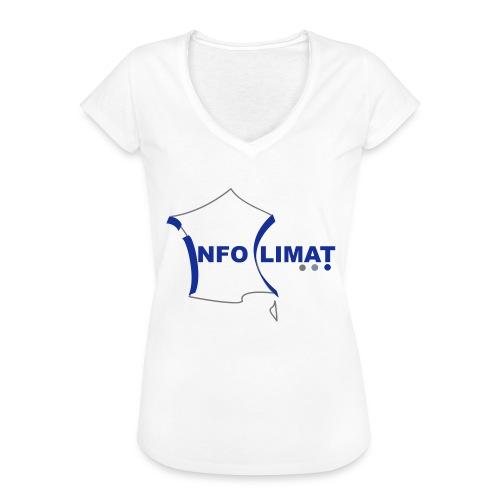 logo simplifié - T-shirt vintage Femme