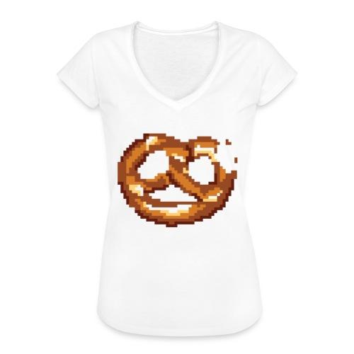 Breze mit Biss - Frauen Vintage T-Shirt