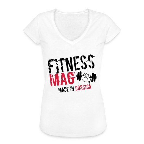Fitness Mag made in corsica 100% Polyester - T-shirt vintage Femme