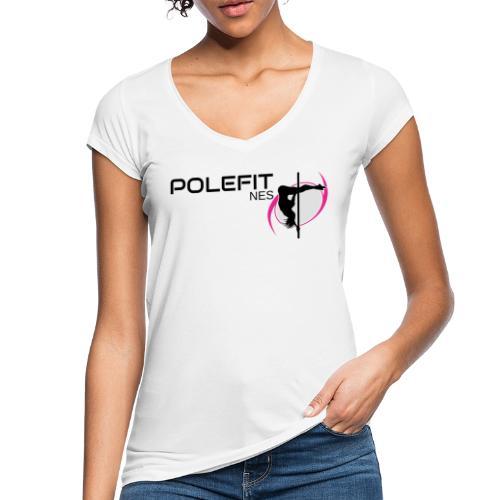 Pole-Fit-NES - Frauen Vintage T-Shirt