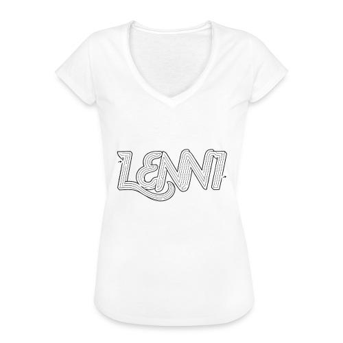 Lenni transparent - Naisten vintage t-paita