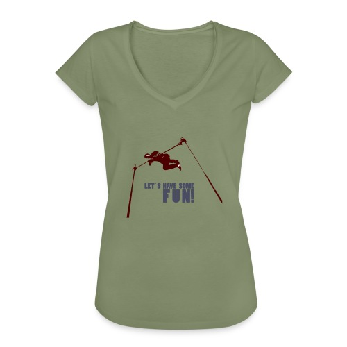 Let s have some FUN - Vrouwen Vintage T-shirt