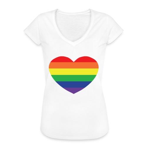 Rainbow heart - Women's Vintage T-Shirt