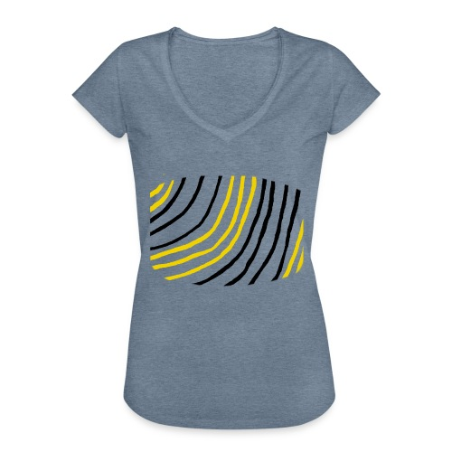 Raidat - Naisten vintage t-paita
