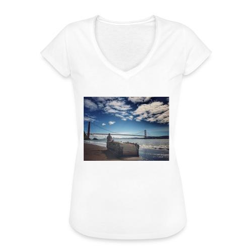 poncio - Camiseta vintage mujer