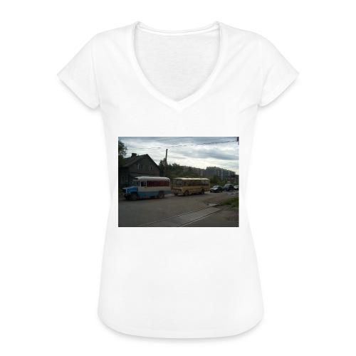 Sortavala - Naisten vintage t-paita