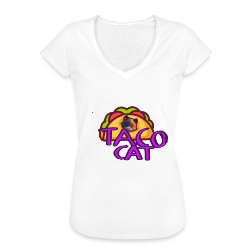 TACO CAT - Vintage-T-shirt dam