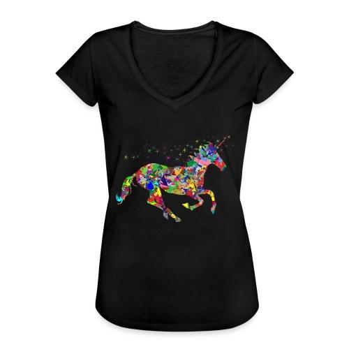 Einhorn - Frauen Vintage T-Shirt