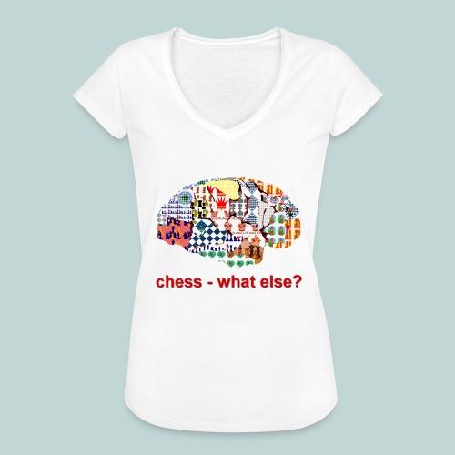 chess_what_else - Frauen Vintage T-Shirt