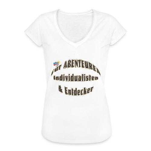 Abenteurer Individualisten & Entdecker - Frauen Vintage T-Shirt