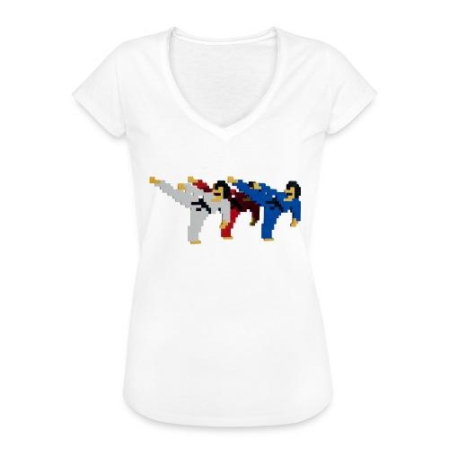 8 bit trip ninjas 2 - Women's Vintage T-Shirt