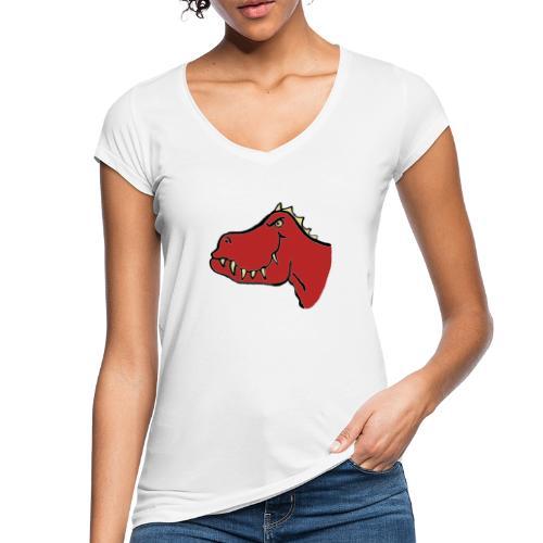 T Rex, Red Dragon - Women's Vintage T-Shirt