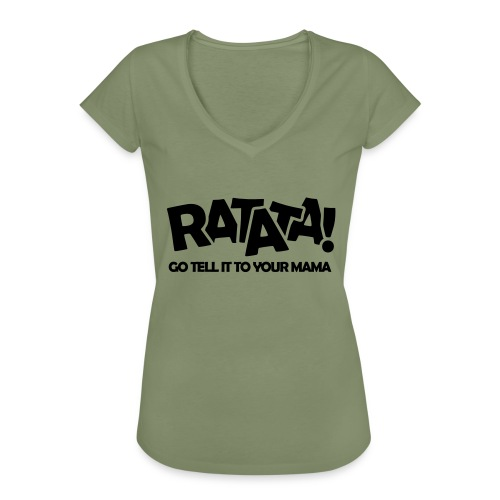 RATATA full - Frauen Vintage T-Shirt