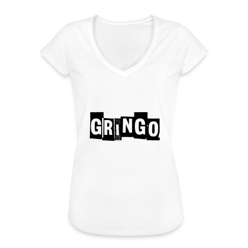 Cartel Gangster pablo gringo mexico tshirt - Women's Vintage T-Shirt