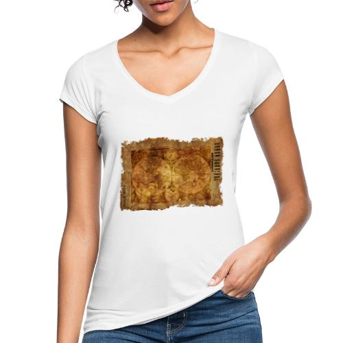 map of the world 2241469 1920 - Frauen Vintage T-Shirt