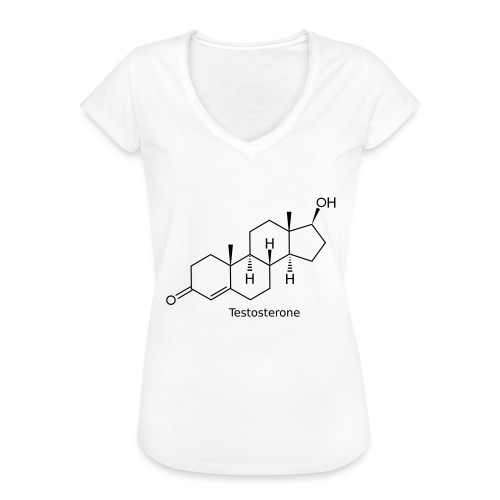 Testosterone - Bodybuilding, Crossfit, Fitness - Frauen Vintage T-Shirt