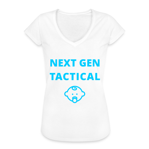 Tactical Baby Boy - Vrouwen Vintage T-shirt