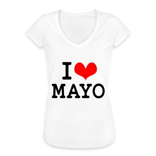 I Love Mayo - Women's Vintage T-Shirt