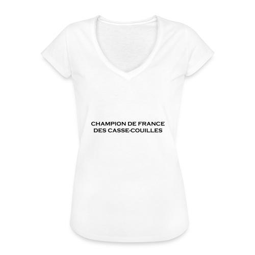 design castres - T-shirt vintage Femme