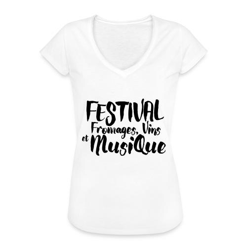Festival FVM - T-shirt vintage Femme