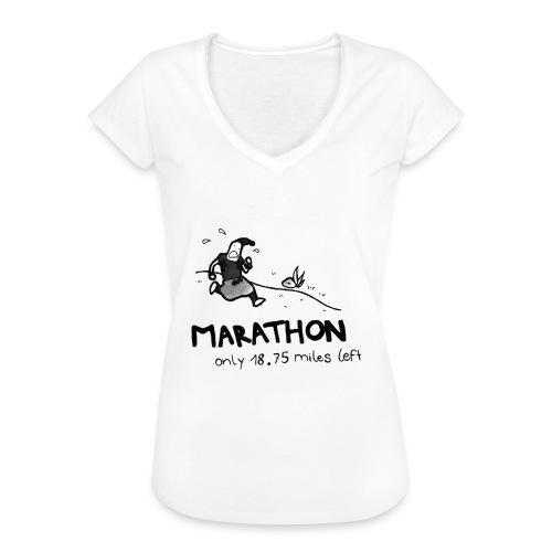 marathon-png - Koszulka damska vintage