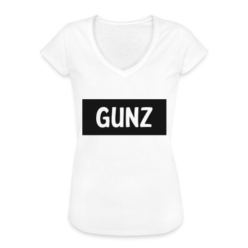 Gunz - Dame vintage T-shirt