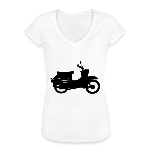 Schwalbe Silhouette - Frauen Vintage T-Shirt