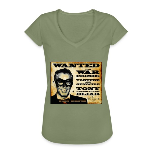 Wanted - Women's Vintage T-Shirt