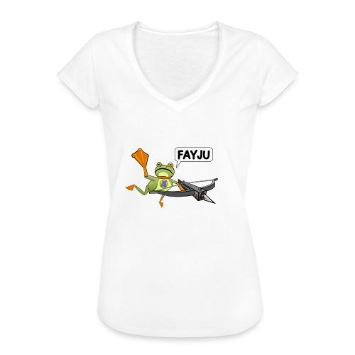 Amazing Frog Crossbow - Women's Vintage T-Shirt